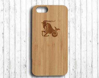 Capricorn  iphone 7 plus case zodiac  iphone 7 plus case wood horoscope iphone 6s wood case wood  iphone 6s plus case  iphone 6 case