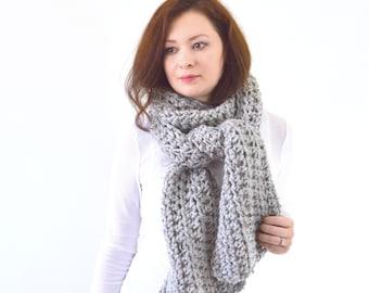 Knit Crochet Chunky Women Men Classic Style Scarf | The Bern