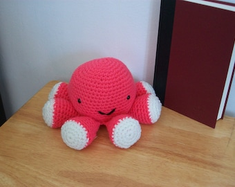 Hand Crocheted Octopus