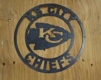 KS City Chiefs Wall Decor