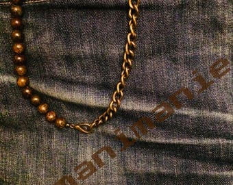 Chain Jeans man brown/brown man jeans chain