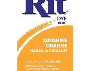 SUNSHINE ORANGE Rit Dye Fabric Dye Rit Dye Powder Fabric Dye