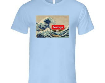 Savage Tsunami T Shirt