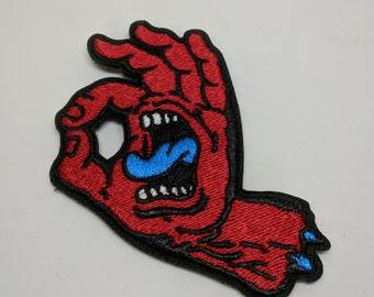 ahctoG (Gotcha! Inverted) Embroidered Morale Patch