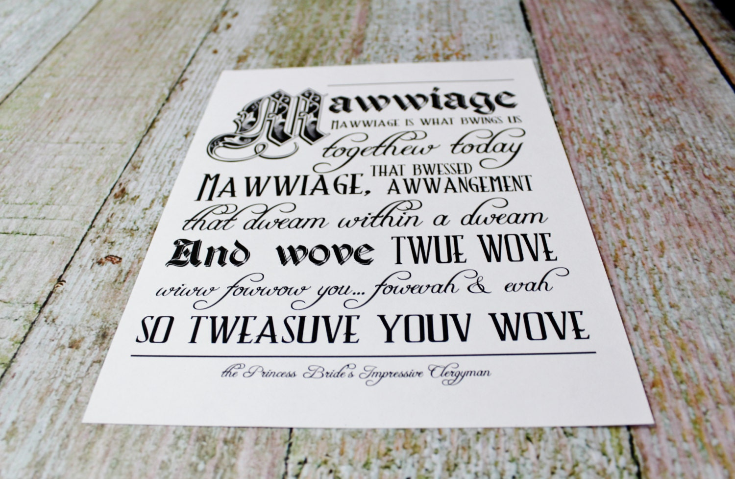 princess bride themed wedding invitations - Picture Ideas References