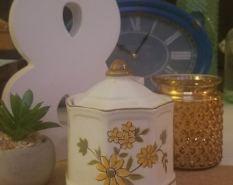 Small Vintage Sugar Canister