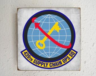 Squadron Sign - Custom Military Air Force Squadron - Air Force - Unit - Military - BornOnBonn