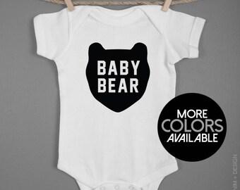 Baby Bear Romper. Baby Boy Onesie. Newborn 6M 12M 18M Romper. Baby Bodysuit. Baby Shower Gift. Newborn Gift. Coming Home Outfit