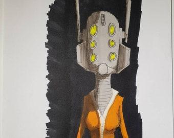 Space Vixen - bobble head