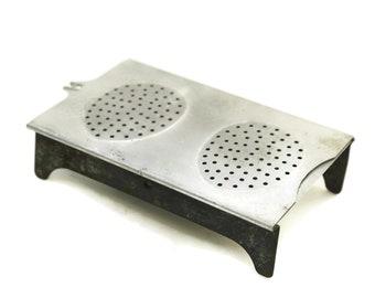 Vintage Egg Poacher. Le Poche Oeuf Coddler. Rustic French Kitchen Decor. Kitchenalia Decor and Foodie Gifts.