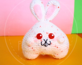 Chubby Bunny  - 12cm (5 inches) amigurumi