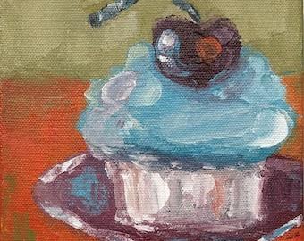 "Original painting ""Cupcake II"""