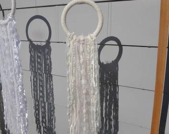 The Buttercup | Small Yarn Hoop | Wreath | Wedding Decor | Wallhanging | Wall Art | Home Decor