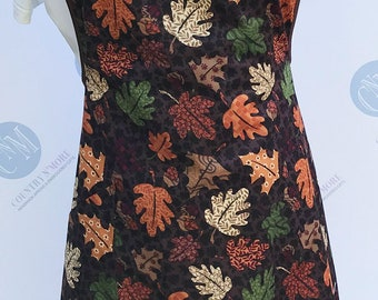 Fall Leaves Vintage Style Apron