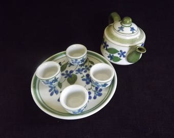 Vintage Six Piece Miniature Tea Set