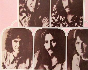 Rock Music--Three Dog Night 1971 Promotional Souvenir Booklet