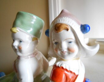 Vintage Children's Bookends