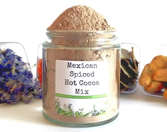 Mexican Spiced/Drinking Chocolate/Hot Chocolate/Hot Cocoa Bar/Food Gift/Spice Rack/Gifts For Foodies/Foodie Gift/Cooking Gift/Chocolate