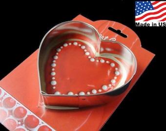 Heart Cookie Cutter by Ann Clark