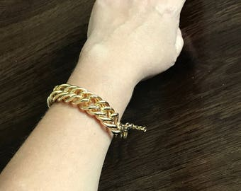 Heritage Links Golden Bracelet