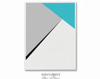 Geometric wall art prints, Large Abstract art print, Minimalist wall art printable, Digital download art, Minimalist poster, Geometric print