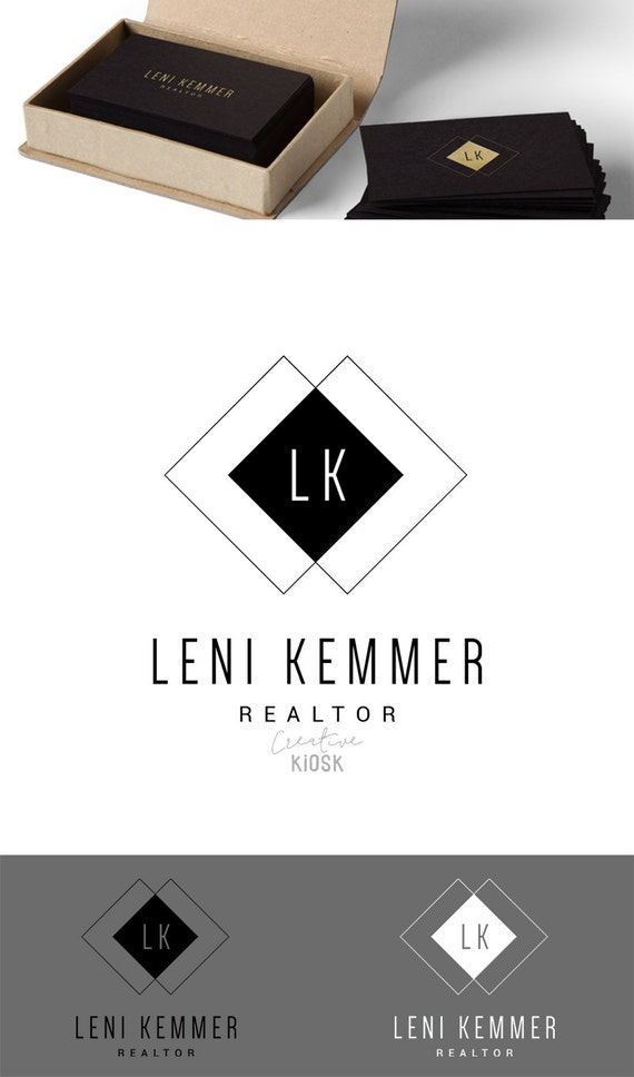 Realtor Logo. Classic Logo. Simple Logo. Photography Template.