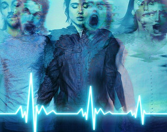 FLATLINERS -  Film Poster - Giclee Reproduction Full Colour Print