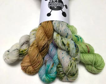 Micro Sock Supercluster #3 - Hand Dyed Yarn