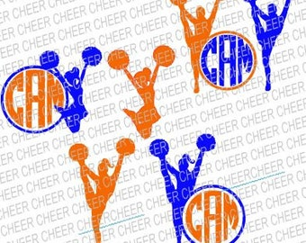Cheer SVG/Studio With/Without Frame