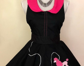 50s retro look apron
