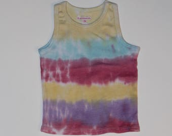 12 month tie dyed tank