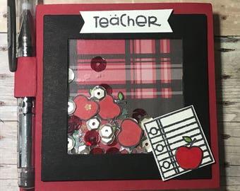Shaker Teacher Post It Notes Holder