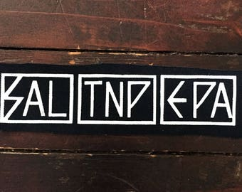 Salt'N'Pepa Patch // Subhumans // Punk Hip Hop 90's