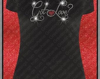 Got Love Rhinestone T-shirt