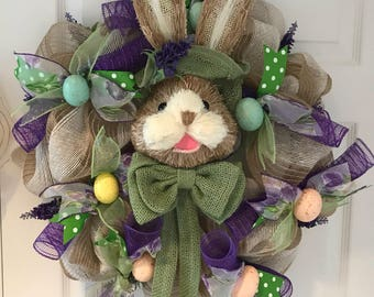 Green Easter Bunny