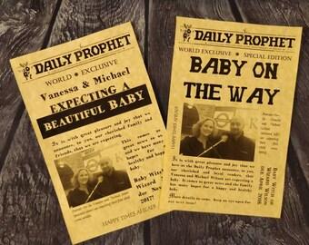 Annonce de grossesse quotidien prophète, ensemble de 10
