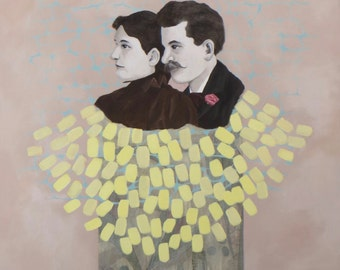 Reflect - Original Painting by Elizabeth Bauman