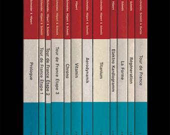 Kraftwerk 'Tour de France Soundtracks' Poster Print Album As Books