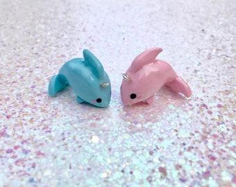 Kawaii Dolphin Charm