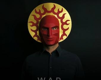 WAR : Four Horsemen Halloween Mask and Halo