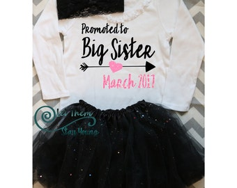 Only Child Expiring Big Sister Shirt Little Sister Shirt Pregnancy Announcement Shirt Sibling Shirts Baby Announcement Shirt Glitter shirt