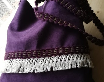 bohemian bag, hippie bag, gypsy bag, boho bag, bohostyle, vegan leather, ethnic, cross body