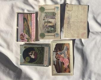 10 Vintage postcards circa 1911 #3