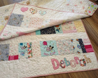 Baby Clothes Memory Quilt Blanket - Deposit