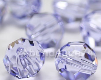 Swarovski Elements Crystal Beads 5000 8mm Round Ball Beads PROVENCE LAVENDER - Select Quantity