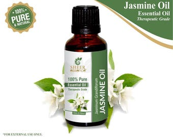 100% Pure Natural Jasmine Essential Oil - Sheer Essence - Therapeutic Grade Jasmine Oil 5ml To 500ml Free Shipping Worldwide