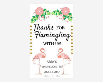 Flamingo - Thank You Tag