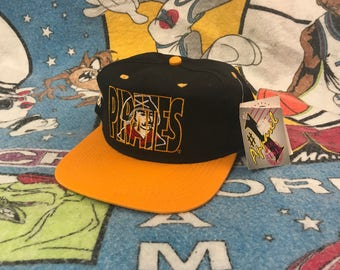 Pittsburg Pirates Vintage New With Tags Snapback Hat #1 Apparel