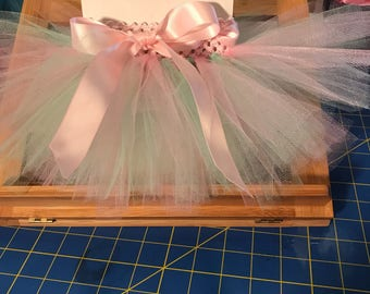 Pink/Mint Tutu Infant