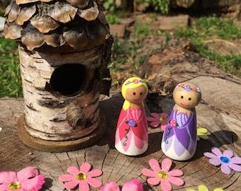 Fairy Peg dolls